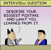 interview mistake