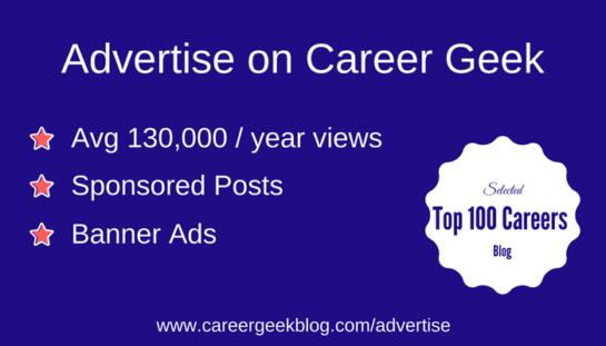 advertise with sponsored posts on career geek