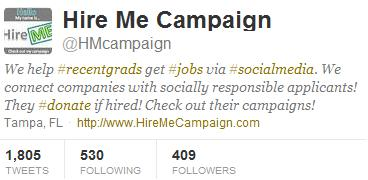 hire me campaign, career geek blog, finding a graduate job