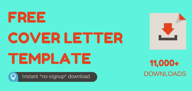 free cover letter template download