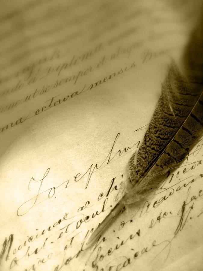 poem writing a resume