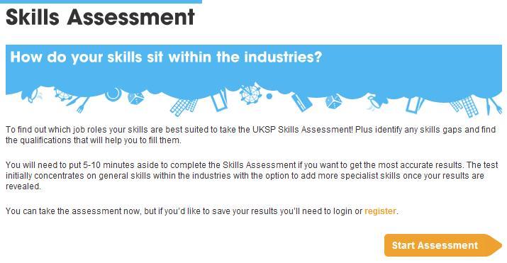 UKSP Skills Assessment