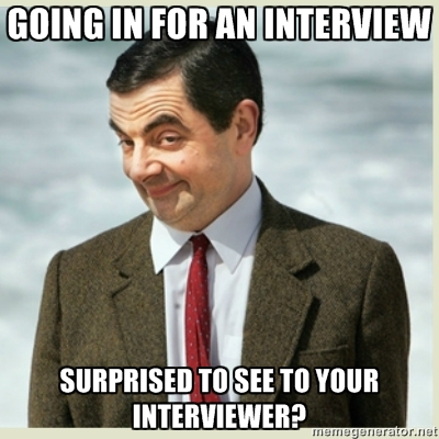surprised interview questions mr beans