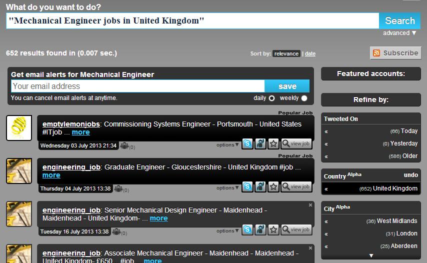 mechanical engineering jobs on twitter