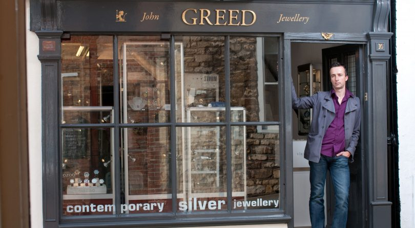 John Greed Jewellery Internship