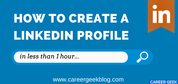 how to create linkedin profile