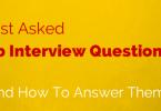 Job interview questions (2)