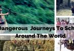 unusual journeys to school featured image