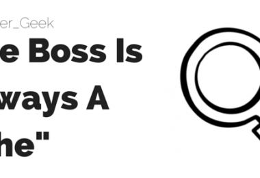The Boss Is Always A -She-