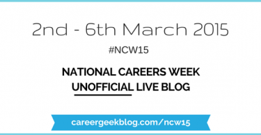 National Careers Week 2015 Unofficial