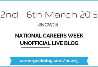 National Careers Week 2015 Unofficial