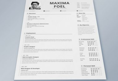 creative resume design professional