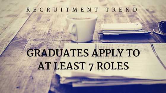 graduate apply for atleast 7 roles