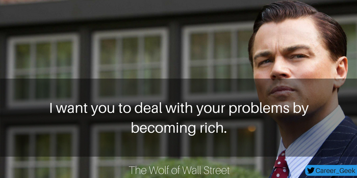 wolf of wall street quote
