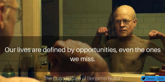 missed opportunities career quote