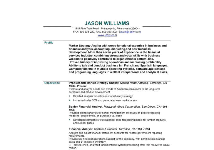 how to write a personal statement for your resume  with examples