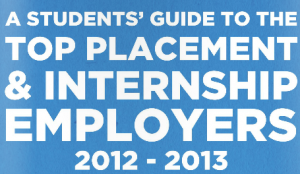 top internship and placement employers