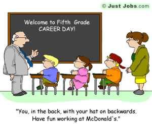 Funny Friday Intern Blues 5th Grade Career Day And