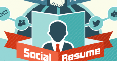social resume job seekers