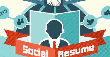 social resume job seekers