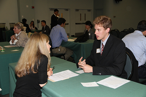 careers fair interview