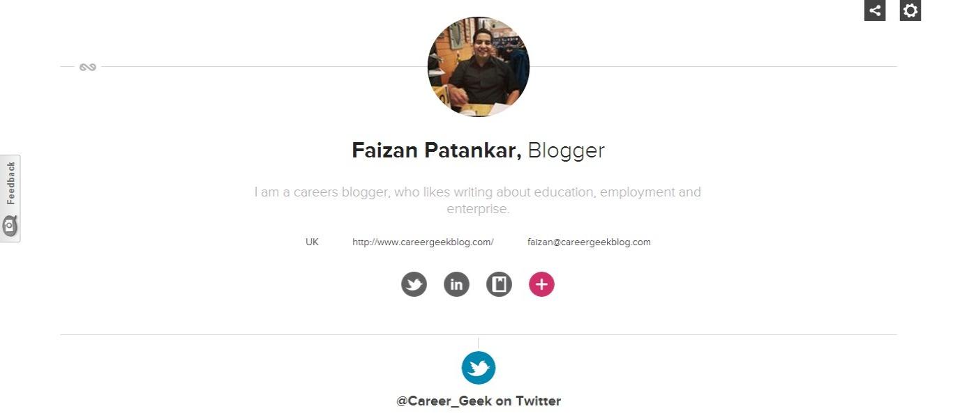 enthuse me career geek