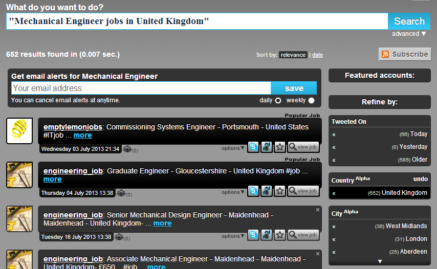 mechanical engineering jobs on twitter