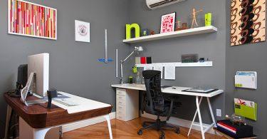 quiet home office