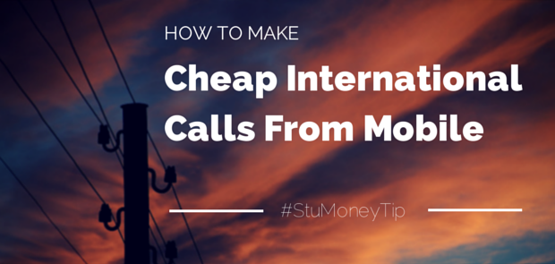 Cheap International Calls From The UK