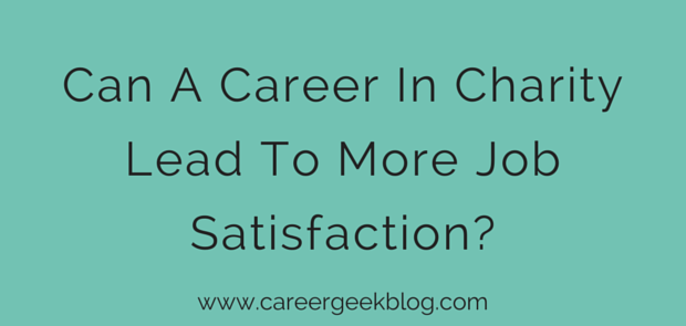 Can A Career In Charity Lead To More Job