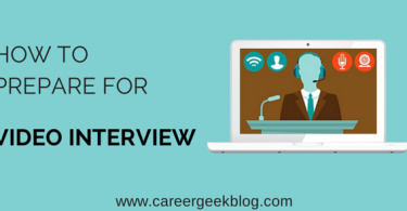 How To Prepare for Video Interview