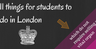 things for students to do in london