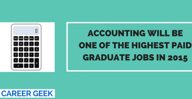 Accounting highest paid job 2015