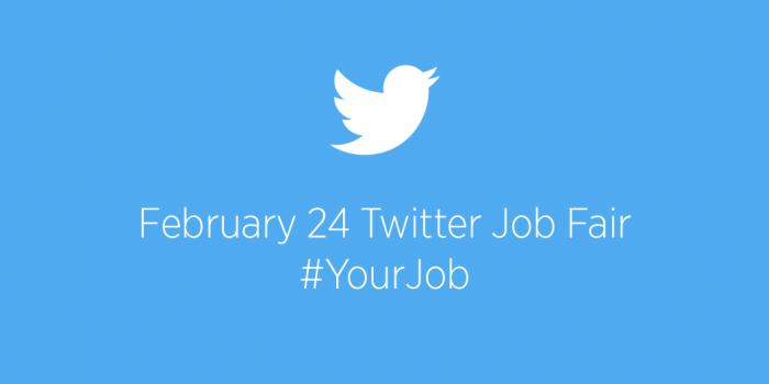 twitter job fair 24th Feb