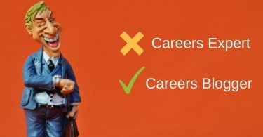 careers blogger not expert