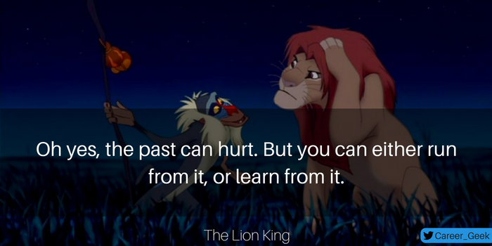 the lion king career quote