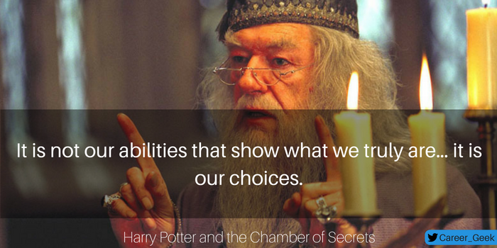 harry poter moview quote