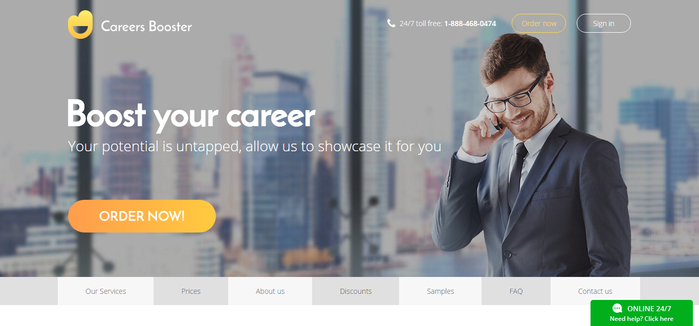 career booster job search