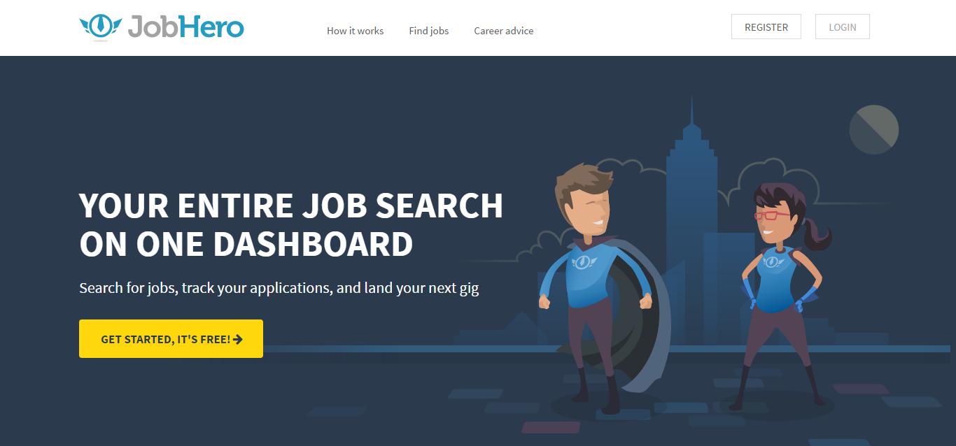 job hero job search