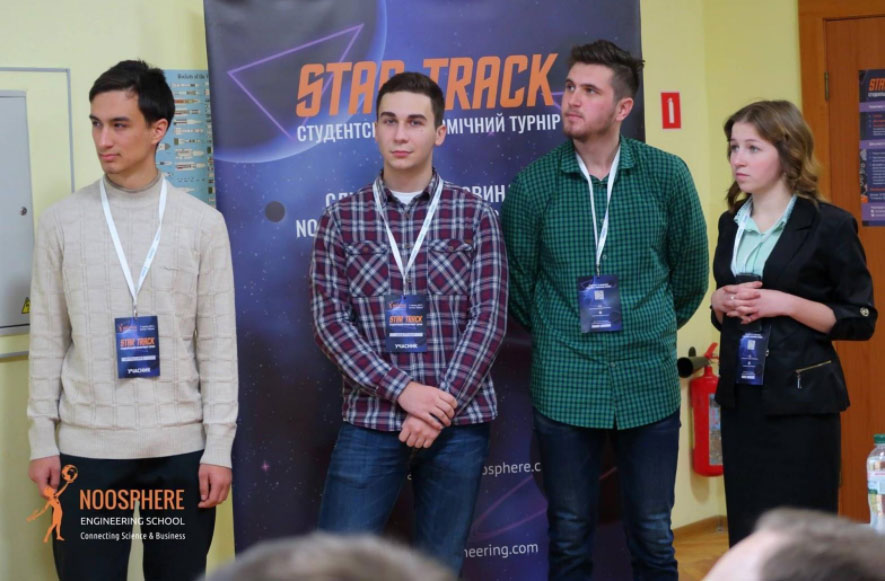 Max Polyakov Opens New Talents at the Student Space Tournament